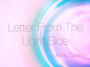 Letter From The Light Side