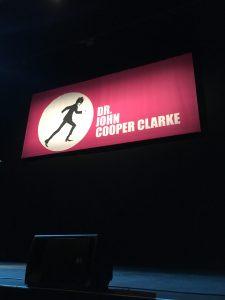 Humour Dr John Cooper Clarke