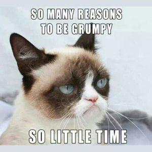 grumpiness